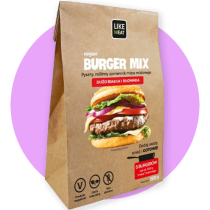 Wegańskie burgery Wegan BURGER MIX