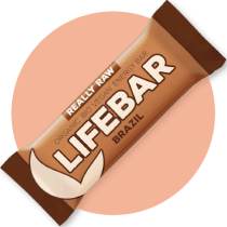 Lifebar REALLY RAW | Orzechy brazylijskie